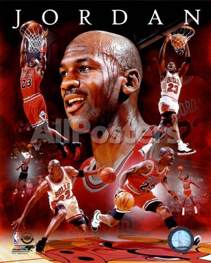 NBA Michael Jordan 2011 Portrait Plus Foto - AllPosters.at