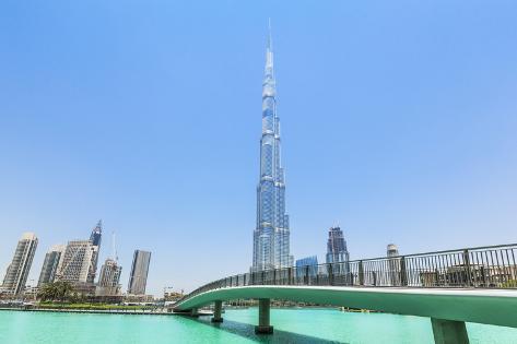 Dubai Burj Khalifa Dubai City United Arab Emirates Middle East
