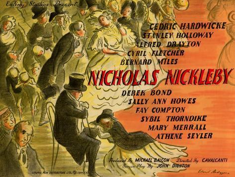 Nicholas Nickleby Kunstdruck