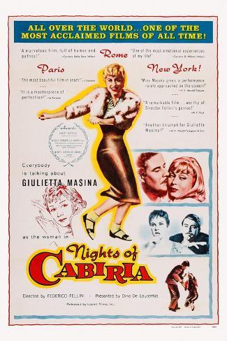 Nights of Cabiria, 1957 Kunstdruck