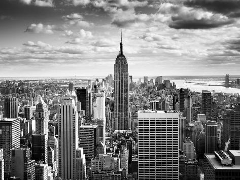 NYC Downtown Fotografie-Druck