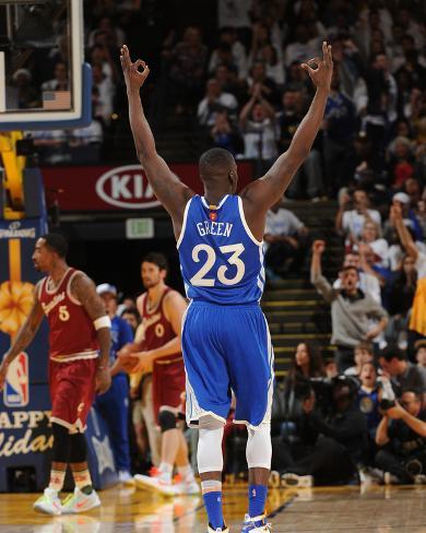 Golden State Warriors V Cleveland Cavaliers Foto