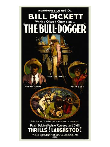 The Bull - Dogger Kunstdruk