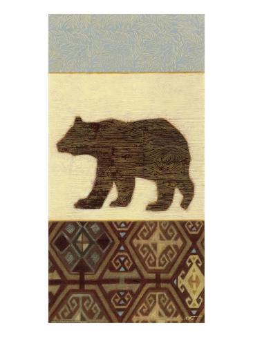 Lodge Bear Kunstdruck