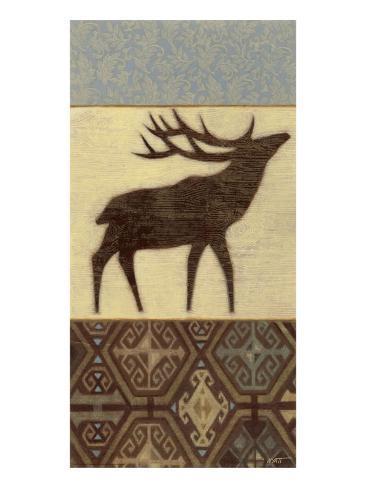 Lodge Elk Kunstdruck