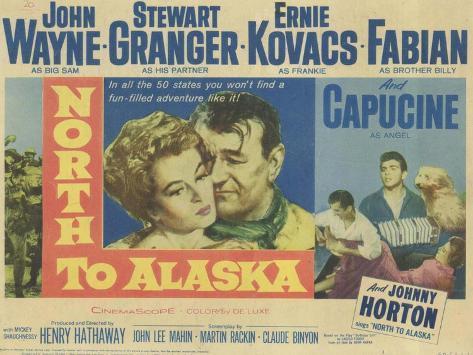 North to Alaska, 1960 Kunstdruck