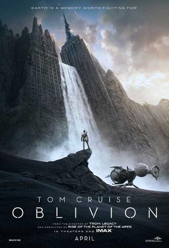 Oblivion (Tom Cruise, Morgan Freeman, Andera Riseborough) Movie Poster Neuheit