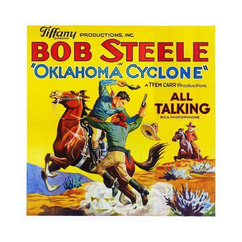 Oklahoma Cyclone Kunstdruck