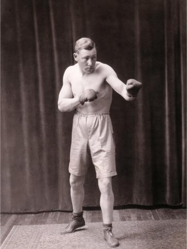 Old Bare-Knuckle Fighter Kunstdruck