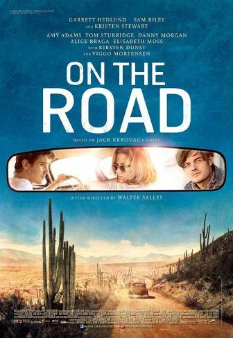 On the Road (Based on the book by Jack Kerouac) Movie Poster Neuheit