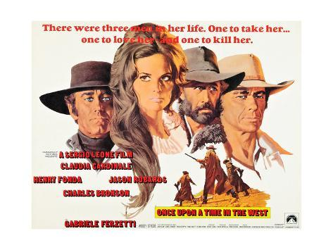 Once Upon a Time in the West, (AKA C'Era Una Volta Il West), 1968 Giclée-Druck
