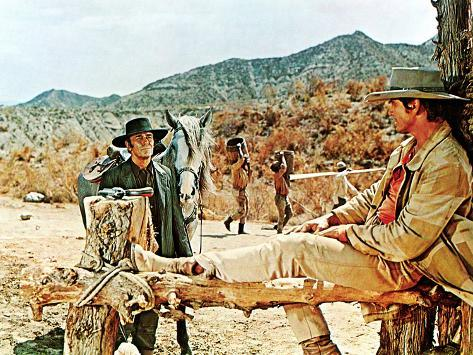 Once Upon A Time In The West, Henry Fonda, Charles Bronson, 1969 Foto