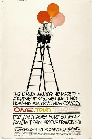 One, Two, Three, 1961, Directed by Billy Wilder Giclée-Druck