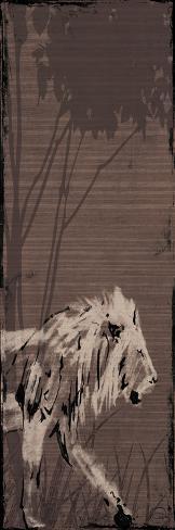 Lion Kunstdruck