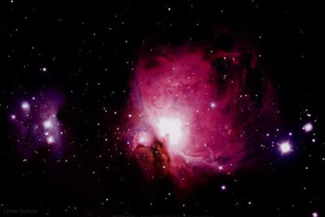 Orion Nebula - Greater Area  - ©Spaceshots Kunstdruck
