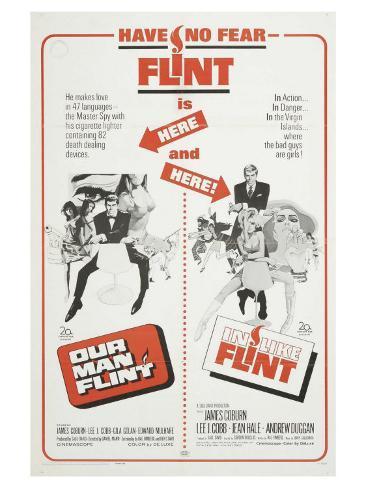 Our Man Flint, 1966 Giclée-Premiumdruck