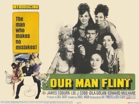 Our Man Flint, 1966 Kunstdruck