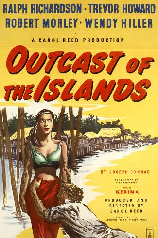 Outcast of the Islands Kunstdruck