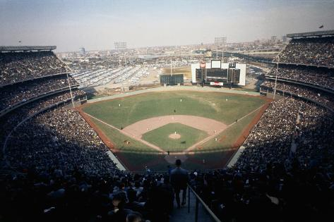 Overview of New Shea Stadium Fotografie-Druck