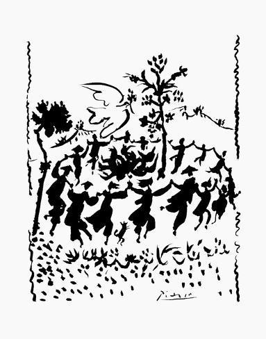 Long Live Peace Kunstdruck