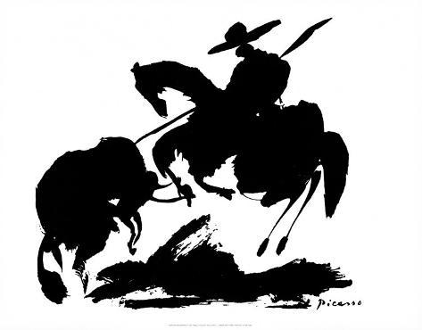 Stierkampf I Kunstdruck