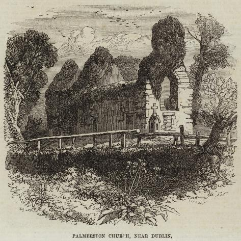 Palmerston Church, Near Dublin Giclée-Druck