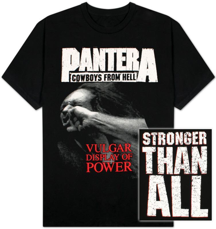 Pantera - Vulgar Display of Power T-Shirts bei AllPosters.de