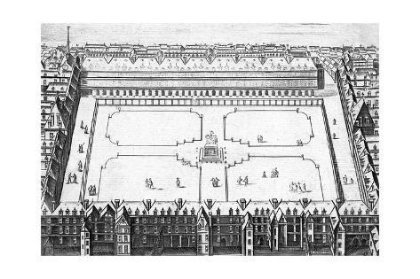 Paris Palais Royal Giclée-Druck