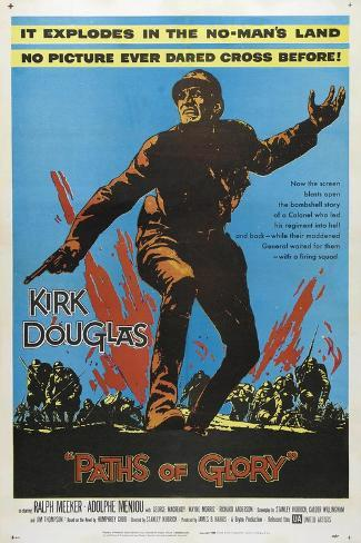 Paths of Glory, 1957, Directed by Stanley Kubrick Giclée-Druck