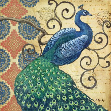 Peacock's Splendor I Giclée-Premiumdruck