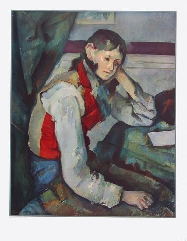 Image result for cezanne jung mit roter weste