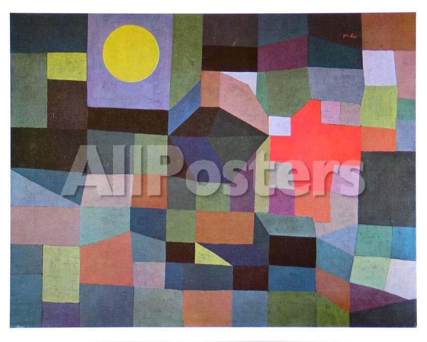 Feuer Bei Vollmond, 1933 Kunstdrucke von Paul Klee bei AllPosters.de