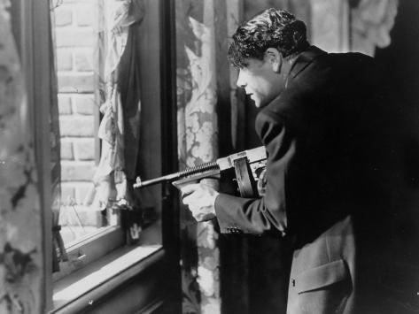 Paul Muni: Scarface, 1932 Fotografie-Druck
