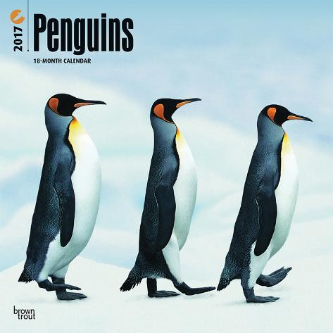 Penguins - 2017 Calendar Kalenders