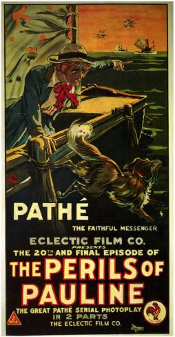 Perils of Pauline Masterprint