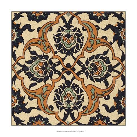 Persian Tile Ix Kunstdruk