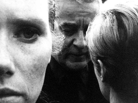 Persona, Liv Ullmann, Gunnar Bjornstrand, Bibi Andersson, 1966 Foto
