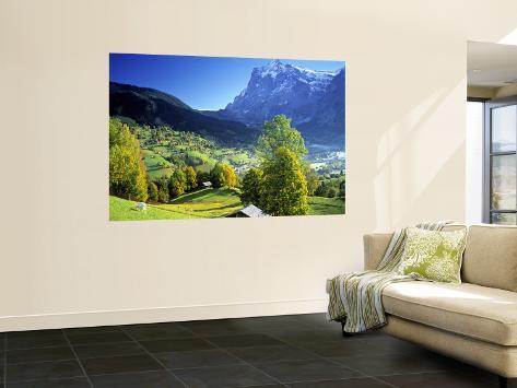 Grindelwald, Berner Oberland, Switzerland Fototapete