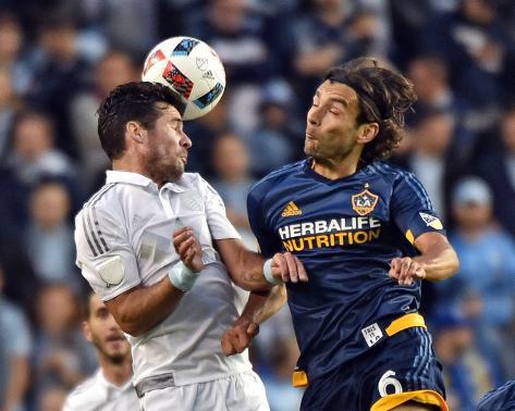 Mls: LA Galaxy at Sporting KC Foto