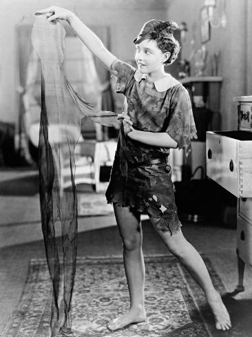Peter Pan, 1924 Fotografie-Druck