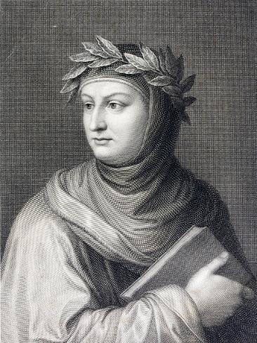 Petrarch Giclée-Druck