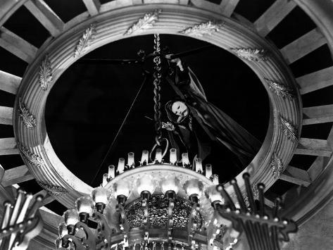 Phantom Of The Opera, Claude Rains, 1943, Chandelier Foto