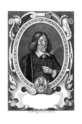 Phil. Ludwig Melem Giclée-Druck