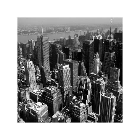 Manhattan to Brooklyn Giclée-Druck