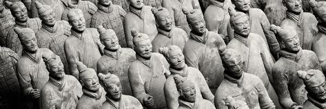 China 10MKm2 Collection - Terracotta Army Fotografie-Druck