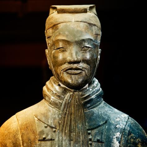 China 10MKm2 Collection - Terracotta Warriors Fotografie-Druck