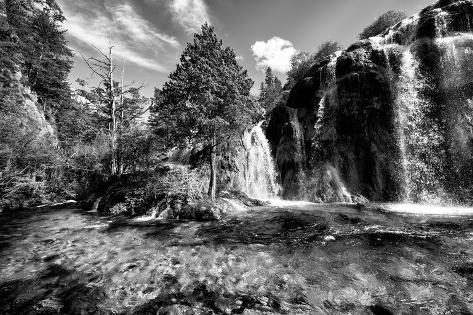 China 10MKm2 Collection - Waterfalls in the Jiuzhaigou National Park Fotografie-Druck