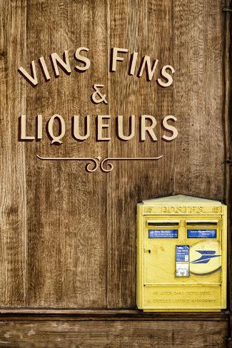 Paris Focus - French Box Letters Fotografie-Druck