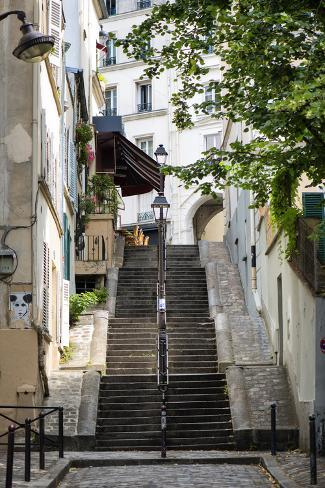 Paris Focus - Montmartre Fotografie-Druck