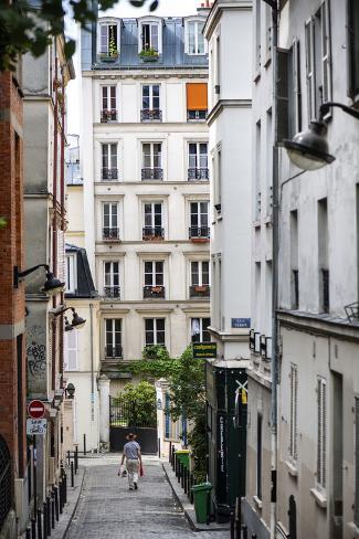 Paris Focus - Paris Montmartre Fotografie-Druck